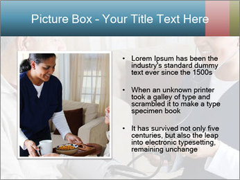 Home health care worker PowerPoint Template - Slide 13