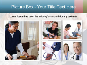 Home health care worker PowerPoint Template - Slide 19