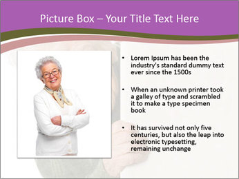 The old woman spies PowerPoint Template - Slide 13