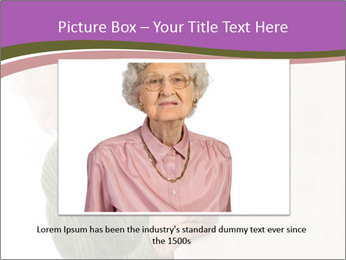 The old woman spies PowerPoint Template - Slide 16
