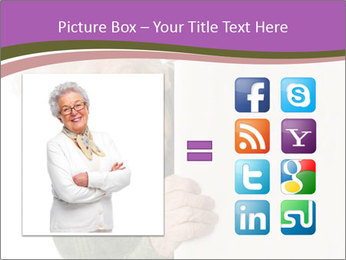 The old woman spies PowerPoint Template - Slide 21