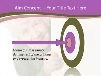 The old woman spies PowerPoint Template - Slide 83