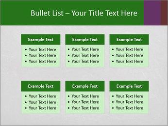 Empty blank black chalkboard PowerPoint Templates - Slide 56