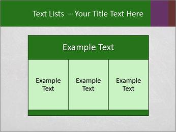 Empty blank black chalkboard PowerPoint Template - Slide 59