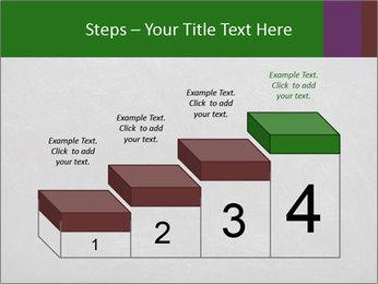 Empty blank black chalkboard PowerPoint Template - Slide 64