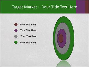 Empty blank black chalkboard PowerPoint Template - Slide 84