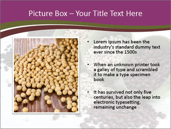Assorted mixed dried beans spilling PowerPoint Template - Slide 13