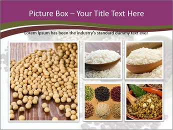 Assorted mixed dried beans spilling PowerPoint Templates - Slide 19