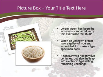 Assorted mixed dried beans spilling PowerPoint Template - Slide 20