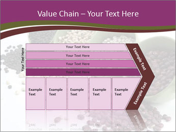 Assorted mixed dried beans spilling PowerPoint Template - Slide 27