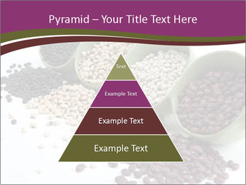 Assorted mixed dried beans spilling PowerPoint Template - Slide 30