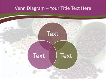 Assorted mixed dried beans spilling PowerPoint Template - Slide 33