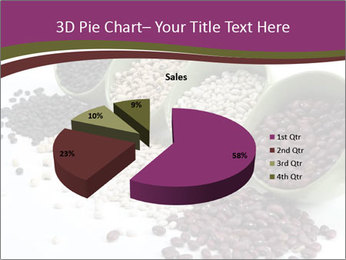 Assorted mixed dried beans spilling PowerPoint Template - Slide 35