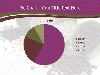 Assorted mixed dried beans spilling PowerPoint Template - Slide 36
