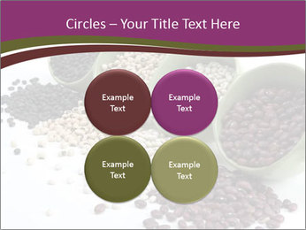 Assorted mixed dried beans spilling PowerPoint Template - Slide 38