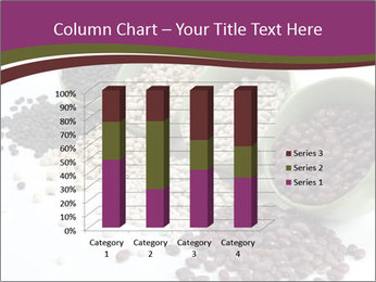 Assorted mixed dried beans spilling PowerPoint Template - Slide 50