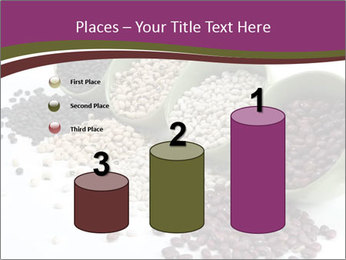 Assorted mixed dried beans spilling PowerPoint Template - Slide 65