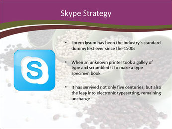 Assorted mixed dried beans spilling PowerPoint Template - Slide 8