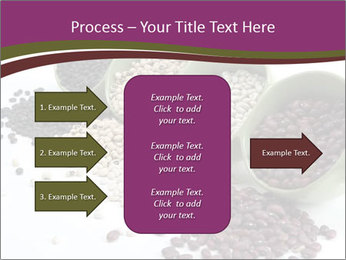 Assorted mixed dried beans spilling PowerPoint Template - Slide 85