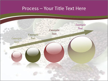 Assorted mixed dried beans spilling PowerPoint Template - Slide 87