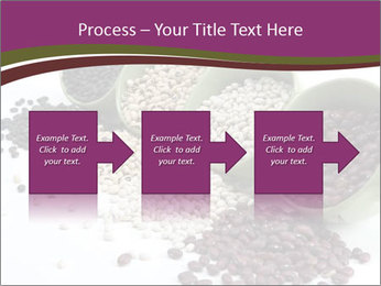 Assorted mixed dried beans spilling PowerPoint Template - Slide 88