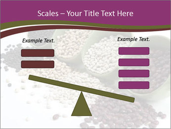 Assorted mixed dried beans spilling PowerPoint Template - Slide 89
