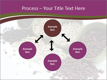 Assorted mixed dried beans spilling PowerPoint Template - Slide 91