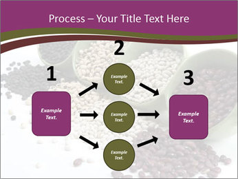 Assorted mixed dried beans spilling PowerPoint Template - Slide 92