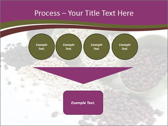 Assorted mixed dried beans spilling PowerPoint Template - Slide 93