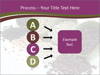 Assorted mixed dried beans spilling PowerPoint Template - Slide 94