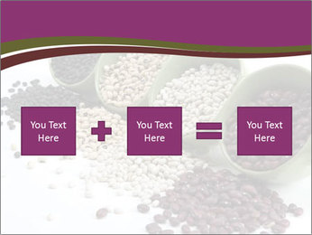 Assorted mixed dried beans spilling PowerPoint Template - Slide 95