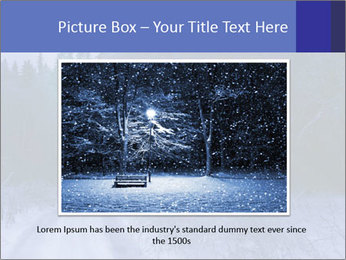 Winter night in the forest PowerPoint Templates - Slide 15