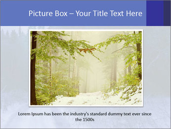 Winter night in the forest PowerPoint Templates - Slide 16
