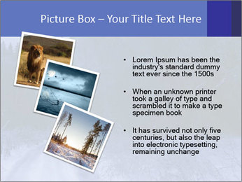 Winter night in the forest PowerPoint Templates - Slide 17