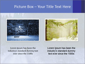 Winter night in the forest PowerPoint Templates - Slide 18