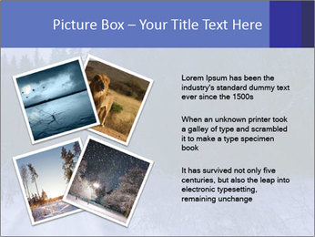 Winter night in the forest PowerPoint Templates - Slide 23