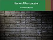 Old brick wall PowerPoint Templates