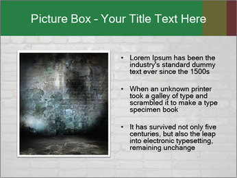 Old brick wall PowerPoint Template - Slide 13