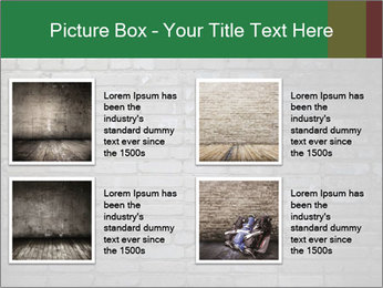 Old brick wall PowerPoint Template - Slide 14