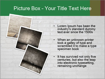 Old brick wall PowerPoint Template - Slide 17