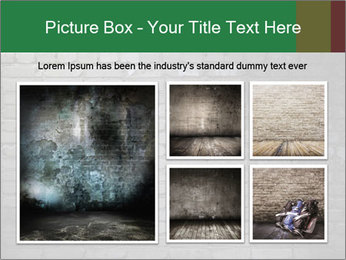 Old brick wall PowerPoint Template - Slide 19