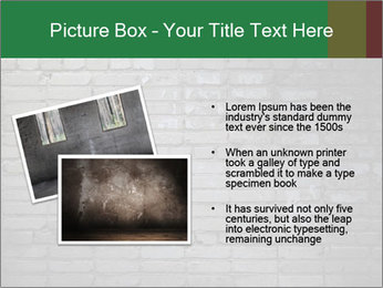 Old brick wall PowerPoint Template - Slide 20