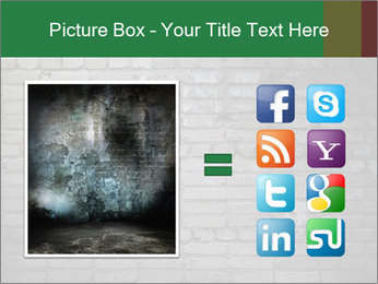 Old brick wall PowerPoint Template - Slide 21