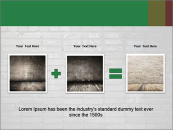 Old brick wall PowerPoint Template - Slide 22