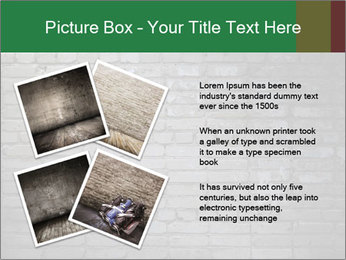 Old brick wall PowerPoint Template - Slide 23