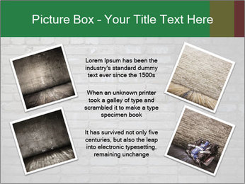Old brick wall PowerPoint Template - Slide 24