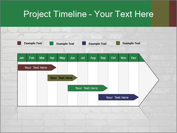Old brick wall PowerPoint Template - Slide 25