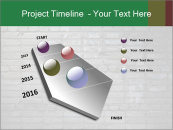 Old brick wall PowerPoint Template - Slide 26