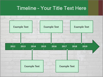 Old brick wall PowerPoint Template - Slide 28