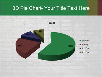 Old brick wall PowerPoint Template - Slide 35